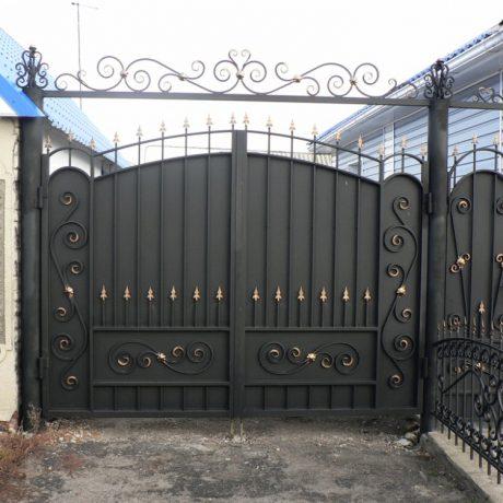 Ворота металл ковка Калининград